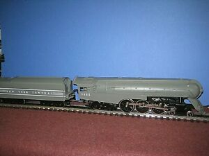 Early Williams(4001): New York Hudson #5446. Brass 4-6-4 Hudson, grey C-7/ob bd