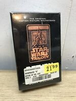 Star Wars Trilogy Return of the Jedi Soundtrack Cassette Tapes 1997 2 Cassettes