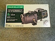 Shallow Well Jet Pump 1/2 HP