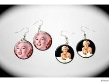 MARILYN MONROE Beauty 2 pair of charm EARRINGS