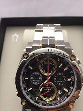 Bulova Men's Precisionist Chronograph Date 300 MT water resistant watch 98G288