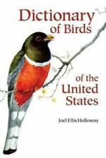 Dictionary of Birds of the United States: Scientific and Common Names-ExLibrary