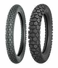 Shinko 2.75-21 & 4.10-18 244 Tires For Honda NX125, XL125, Kawasaki Super Sherpa
