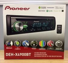 Pioneer DEH-X4900BT Single DIN In-Dash CD/AM/FM Bluetooth Car Stereo Receiver