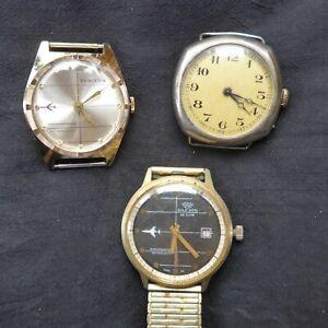 For Hobbyists: 3 Original Wristwatches