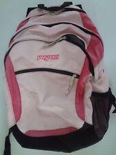 JanSport Backpack Pink Black