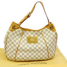 Authentic Louis Vuitton Galliera PM Schultertasche Hobo Damier Azur N55215 O01047