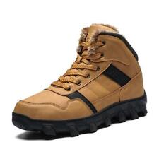 Men's Boots Fall Winter Warm Shoes Fashion Sneakers Outdoor Hiking  Size