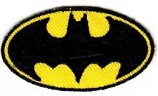 "Batman Patch Signal Logo Comics Hero Embroidered Iron On Applique 3.66"" X 2.00"""