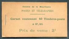 MAURITANIE 1913 DALLAY 1 CARNET RRR (L2291b