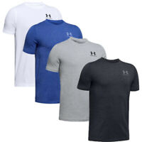 Under Armour Boys Charged Cotton Short Sleeve Shirt Crew Sports tshirt Size