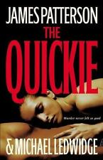 The Quickie by James Patterson  (2007, Hardcover)- LARGE PRINT