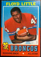 1971 Floyd Little (HOF) #110 Topps All Star