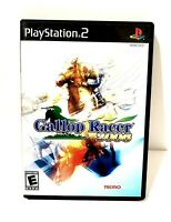 Gallop Racer (PLAYSTATION 2 PS2, 2006) CIB Horse Racing Game 8.44 /10 Very Good