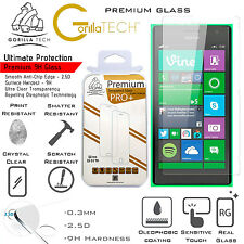 Twin LG G3 S Genuine Gorilla Tech BRAND Screen Protector Tempered Glass Best