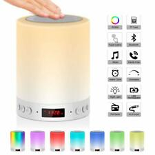 Bedside Lamp Mood Light with Bluetooth Speaker USB Rechargeable