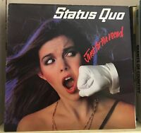 STATUS QUO Just For The Record 1979 UK RED Vinyl LP EXCELLENT CONDITION