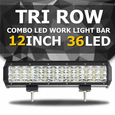 AU 12 inch 180W TRI-ROW LED Work Light Bar Spot Flood Combo Offroad ATV SUV