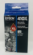 Epson 410XL Black Ink Cartridge Exp 5/2021 Genuine OEM