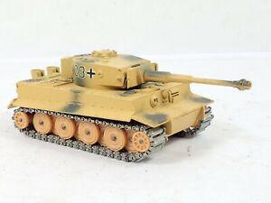 SOLIDO No. 222 CHAR TIGRE  German Tank 1 WW2 DIECAST  France Afrika 1969 READ