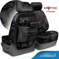 Coverking Kryptek Cordura Ballistic Tactical Seat Covers for Hummer H2
