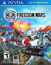 Freedom Wars [Sony PlayStation Vita PSV, Online Co-op Action RPG Hunting] NEW