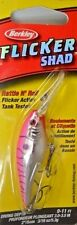 Berkley Flicker Shad 50mm - Pink Cougar Bass Trout Redfin Lure