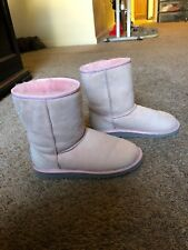 Ugg Youth 4 Short Boots Soft Pink