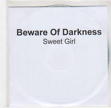 (GF480) Beware Of Darkness, Sweet Girl - 2013 DJ CD