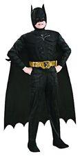 COSTUME BATMAN THE DARK NIGHT Abito di Carnevale per Bambino 8-10 anni RUBIE'S