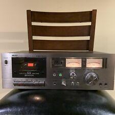 AKAI STEREO CASSETTE PLAYER RECORDER MODEL GXC-706D