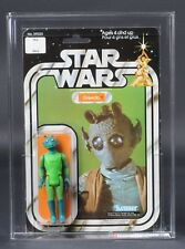 Star Wars Vintage Kenner Canada Greedo 20 Back-A AFA 70 (70/85/85) MOC