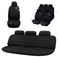 Elegante ricamo farfalla auto CAR Seat Cover Set completo di accessori interni