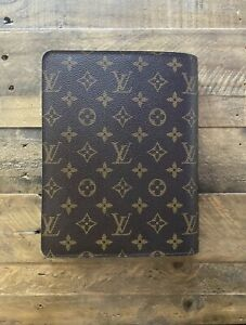 Authentic Louis Vuitton Desk Agenda Cover Monogram