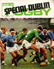 Miroir du Rugby n°90 - 1969 - Spécial Dublin - La Voulte Tarbes - André Capaès -