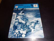 USA VS Czechoslovakia 1977 Sportscaster Series Recontre Lausanne 05-09 NM Card