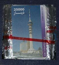 IRAQ CHIP PHONECARD MINT IN BLISTER 25000 dinars last months of Saddam's Regime.