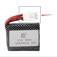 radio remotre control car buggy truck battery Li-On 9.6V 800Mah with 6 Pin Plug