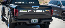 2017-2018 Ford Raptor - Tailgate Letters | Polished or Brushed