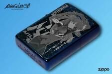 ZIPPO Evangelion / 2020 Blue Titanium coat Asuka / From Japan