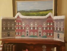 """Byers Choice Accessory """" Piccadilly Street """" Backdrop for Carolers Display"""