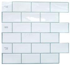 "Crystiles® Peel&Stick Self-Adhesive Tiles, Item# 91010838, 10""X10"", Set of 6"