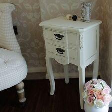 Tables de chevet et rangements avec 2 tiroirs pour la chambre à coucher