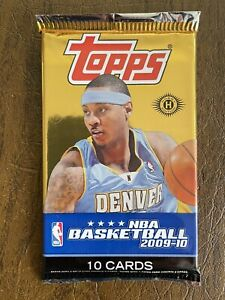 2009-10 Topps Basketball HOBBY Pack - Possible Steph Curry, James Harden Rookies