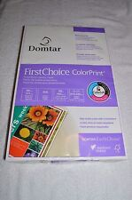 DOMTAR ~ FIRST CHOICE COLOR PRINT ~ 11 x 17 ~ 500 SHEET REAM ~ 98 BRIGHT ~ 28 LB