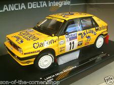 SUN STAR 1/18 CAMMELLO LANCIA DELTA INTEGRALE 11 Lombard RAC Rally 1989 EKLUND 3128