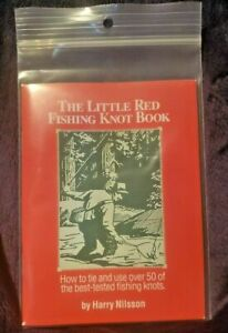 The Little Red Fishing Knot Book by Harry Nilsson Sealed New Free Shipping