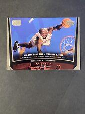 1998/99 UPPER DECK GAME DATED MICHAEL JORDAN ALL-STAR GAME MVP #23. (H14).