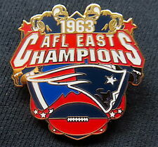 BOSTON PATRIOTS ~ 1963 AFL East Division Champions PIN & CARD ~ Willabee & Ward