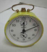 50er Jahre Wecker Jerger Germany mechanisch Vintage clock 50s